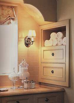 Simple  Shelves In Bathroom Nook On Pinterest  Floating Shelves Bathroom