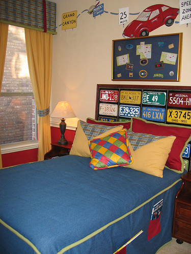 with matchbox cars a car bedroom theme might be right up your alley