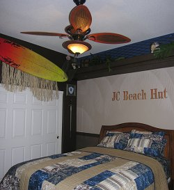 Designing a Boy's Beach Bedroom | RafterTales | Home Improvement