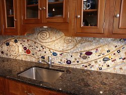 Best Mosaic Backsplash Images On Pinterest Mosaic Backsplash