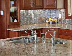 Kitchen Counter Tops on Is Perhaps Better Suited To Kitchen Countertops Than Natural Granite