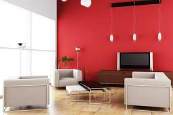 Living Room Paint Colors on Create Great Contrast And A Natural Focal Point In Your Living Room