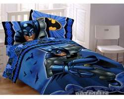 Batman remains a favorite super hero; inexpensive Batman bedding will transform his room into his own bat cave.